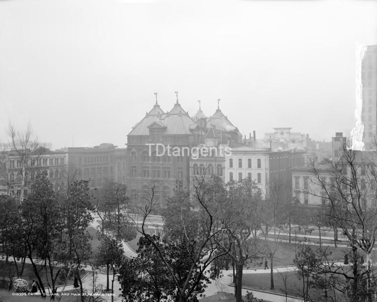 Court Square in Main St., Memphis, Tenn., ca. 1906
