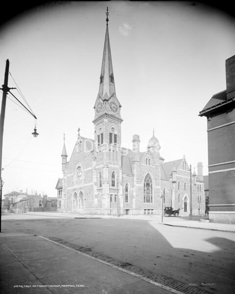 First Methodist Church, Memphis, Tenn., between 1900 and 1910