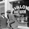Poolroom on Beale Street, Memphis, Tennessee, 1939