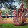 Sculpture Garden at Theatre Memphis