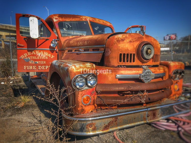 Rusted Firetruck