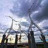 Sculpture at the Memphis Riverpark