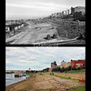 Memphis Riverfront and Skyline 1942/2017