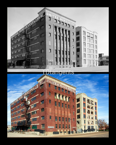 Warehouses on Crump Blvd. 1974/2017