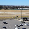 Memphis International Airport near where Flight 705 came to a stop