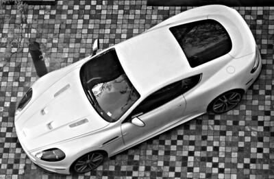 Aston DB-S at the Sheraton Wall, Vancouver.