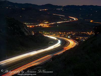 Overlooking I-15