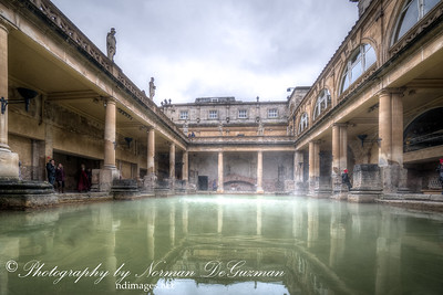 Roman Baths hot springs