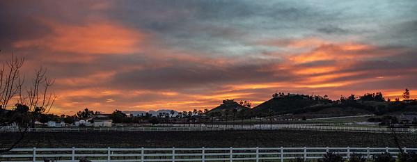 Sunrise in La Cresta