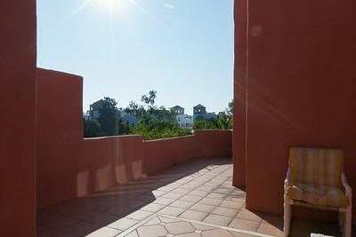 Master bedroom terraces
