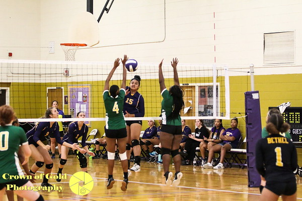Bethel vs Menchville Volleyball 8/31/2017