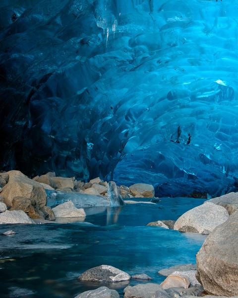 Mendenhall Glacier Ice Cave winter of 2013- 2014