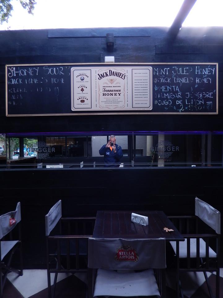 Gingger's menu board