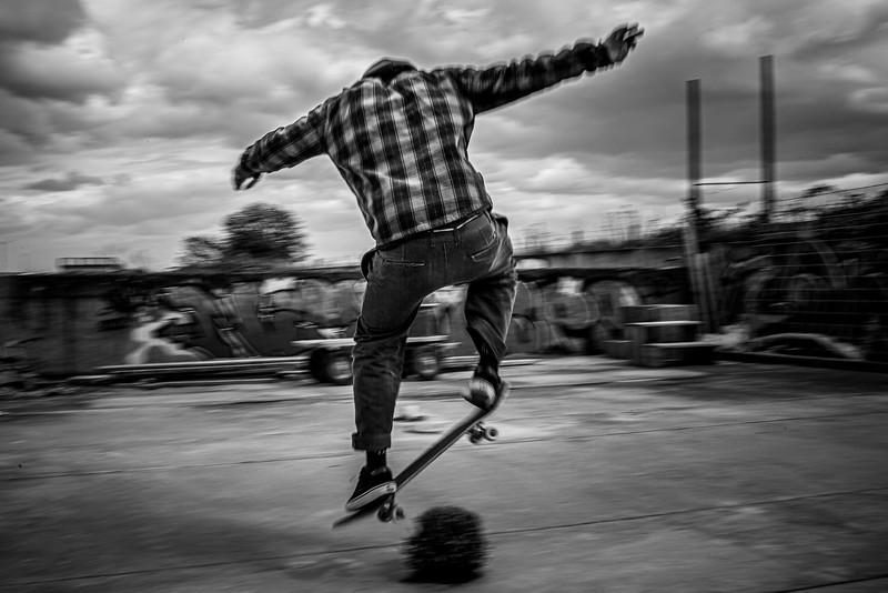 Ung skater