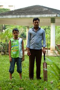 Kricket i parken, Dhaka, Bangladesh