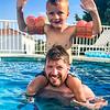Great fun in the pool!