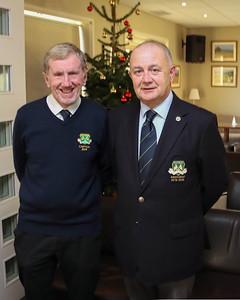 Captain Jim Graham & President Colm Nagle
