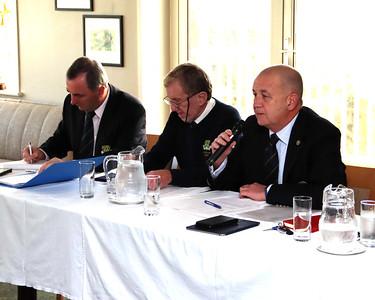Hon. Secretary Ray Barnes with Jim & Colm