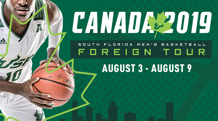 Men's Basketball 2019 Foreign Tour
