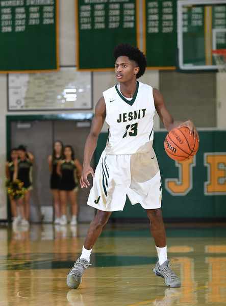 Men's JV Basketball: Jesuit vs. Sunset