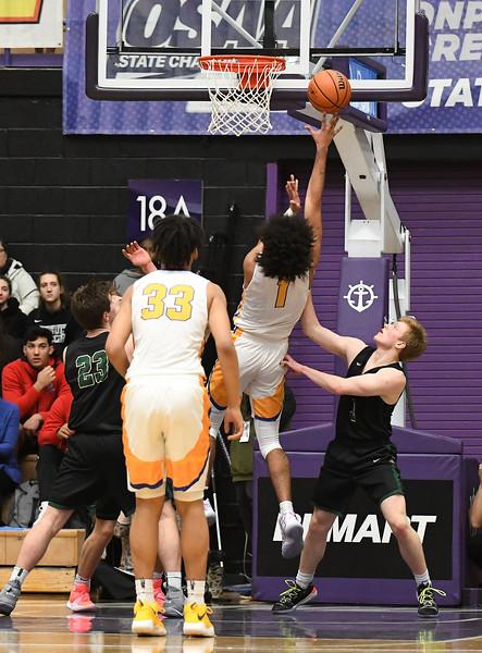 Men's Varsity Basketball - Jesuit Crusaders vs. Jefferson Democrats (OSAA 6A Finals)