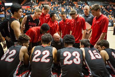 MBBALL | Oregon State University | 11-3-17 | Tyler Kanoa