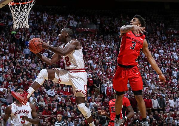 Men's Basketball vs. Rutgers, 01/15/17, Evan De Stefano