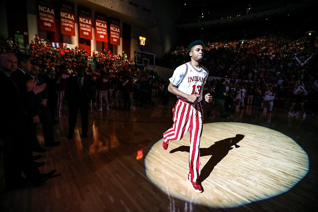 BLOOMINGTON, IN - 2017.12.04 - Men's Basketball vs. Iowa