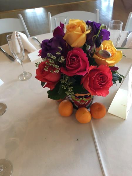 Mexican fiesta  arrangements $35-$40 ea
