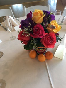 Mexican fiesta  arrangements $35-$40 ea