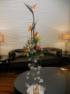 Large  entry arrangement $200