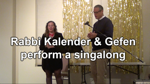 Act II - Rabbi Kalender & Gefen perform a singalong