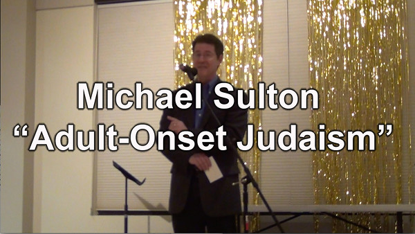 "Act I - Michael Sultan performs ""Adult-Onset Judaism"""