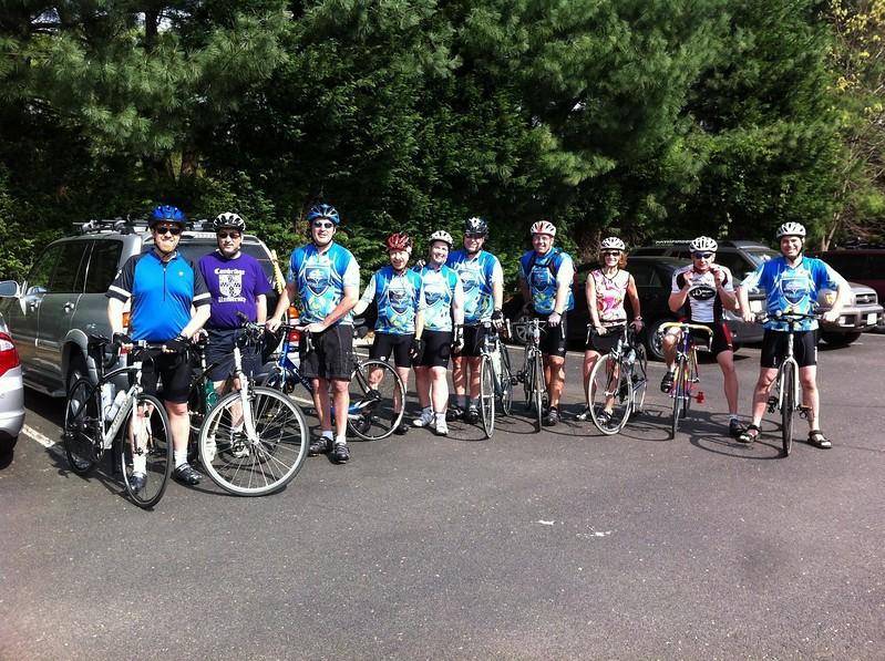 2012 Mens Club ride TBT