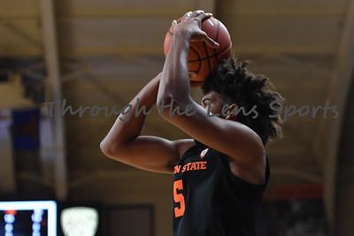 Oregon state mens basketball vs  Carroll College 102319 Leon N575