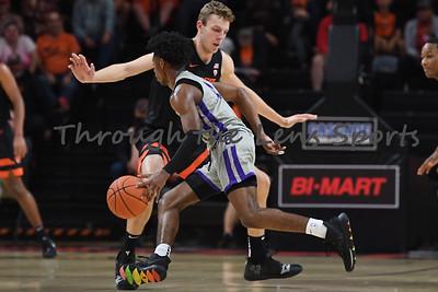 Oregon state mens basketball vs  Carroll College 102319 Leon N573
