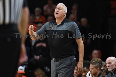 Oregon state mens basketball vs  Carroll College 102319 Leon N557