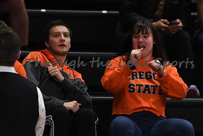 Oregon state mens basketball vs  Carroll College 102319 Leon N560