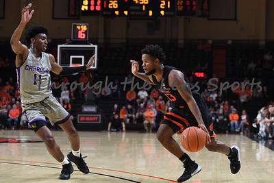 Oregon state mens basketball vs  Carroll College 102319 Leon N580