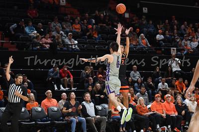 Oregon state mens basketball vs  Carroll College 102319 Leon N571
