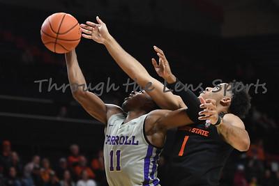 Oregon state mens basketball vs  Carroll College 102319 Leon N553