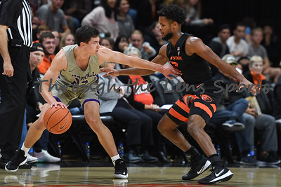 Oregon state mens basketball vs  Carroll College 102319 Leon N555
