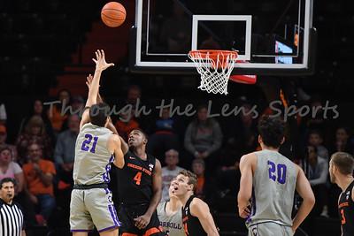Oregon state mens basketball vs  Carroll College 102319 Leon N527