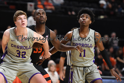 Oregon state mens basketball vs  Carroll College 102319 Leon N561