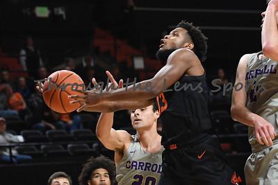 Oregon state mens basketball vs  Carroll College 102319 Leon N540