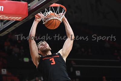 Oregon state mens basketball vs  Carroll College 102319 Leon N578