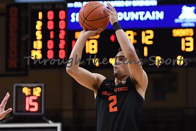 Oregon state mens basketball vs  Carroll College 102319 Leon N566