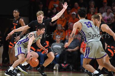 Oregon state mens basketball vs  Carroll College 102319 Leon N536