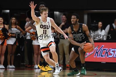 OSU vs  PSU Mens Basketball 120119 Leon Neuschwander82
