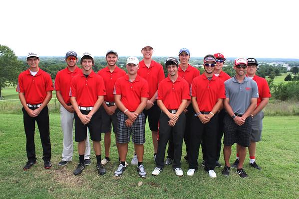 Men's Golf 2015 Team Photos